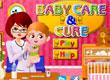 Лечебница за бебета Baby Care and Cure