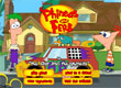 Финиъс и Фърб Рали с коли Phineas and Ferb The Fast and the Phineas