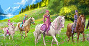 Барби и сестрите й в История с понита Barbie And Her Sisters A Pony Tale